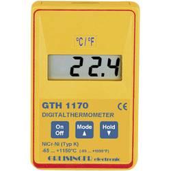 Merilnik temperature Greisinger GTH 1170 -65 do +1150 °C vrsta tipala: K kalibracija narejena po: delovnih standardih