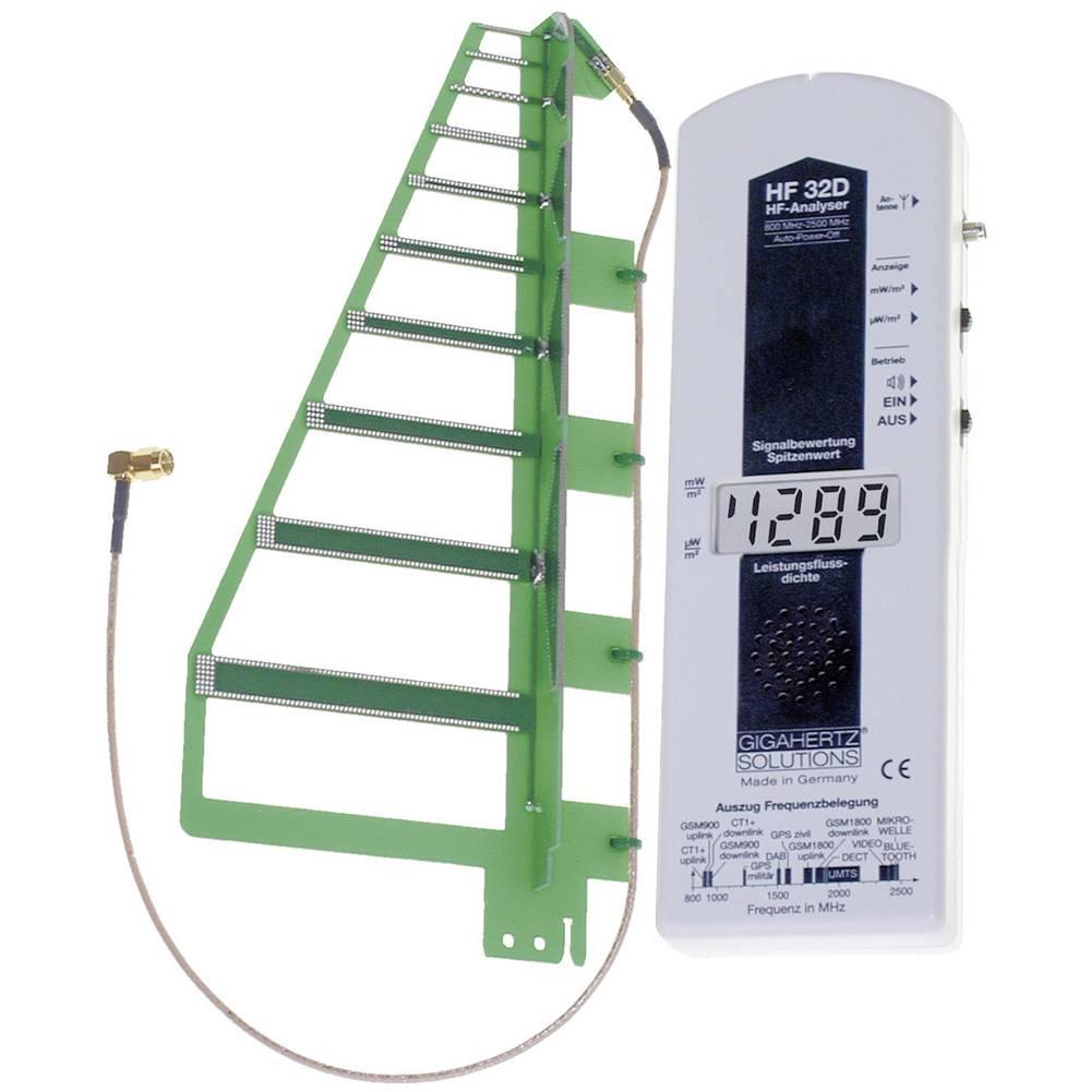 Gigahertz HF 32D Visokofrekvenčno (HF)-analizator, merilnikelektrosmoga, Od 800 MHz do 2, 530-207 Gigahertz Solutions