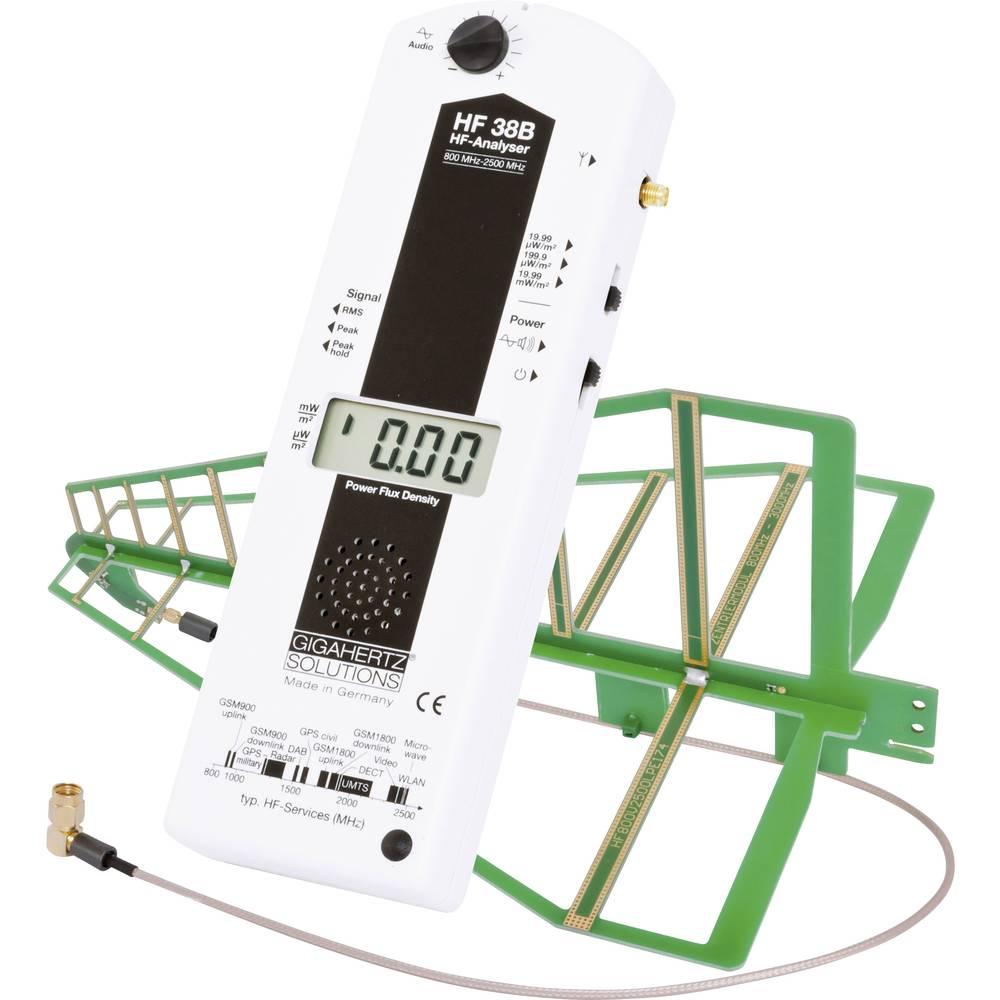 Gigahertz HF 38B Visokofrekvečnost-analizator, merilnik elektrosmoga 800 - 2500 MHz (3300 Gigahertz Solutions