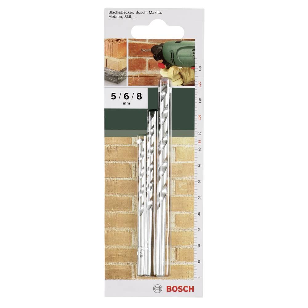 Spiralno svrdlo za kamen 3-dijelni komplet Bosch 2609255458 cilindrična drška