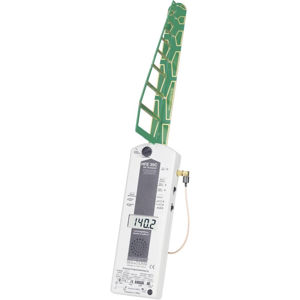 Gigahertz HFE 35C Visoka frekvenca (VF)-analizator, merilnikelektrosmoga 27 MHz - 3,3 GHz Gigahertz Solutions