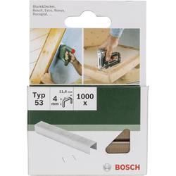 Sponke tip 53 1000 kos Bosch 2609255857 dimenzije, (D x Š) 4 mm x 11.4 mm