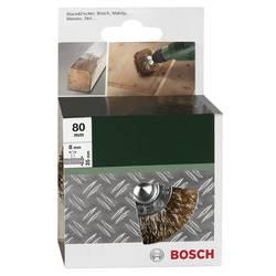 Ščetka za strukturiranje lesa za vrtalnike Bosch, – valovita žica, medeninasta prevleka, 80 mm, 2609256541