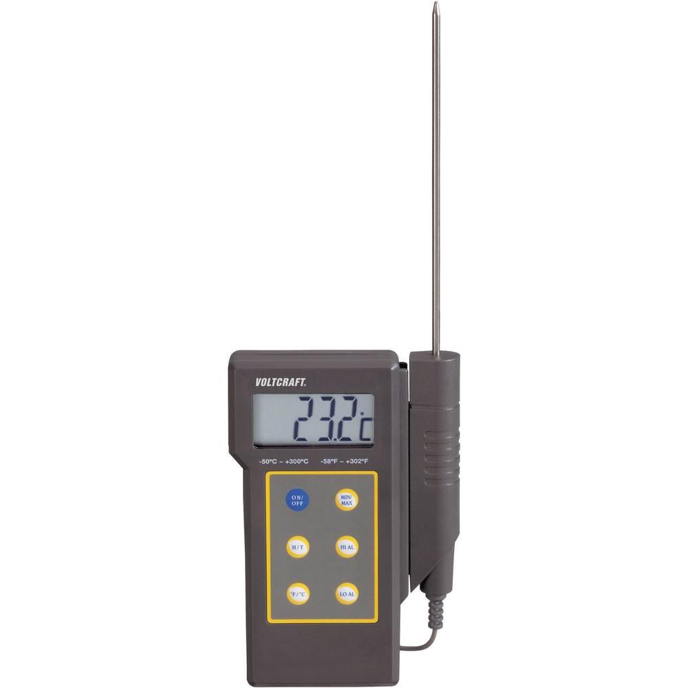 Mjerač temperature VOLTCRAFT DT-300 -50 do +300 °C senzor tipa NTC kalibriran prema: tvorničkom standardu