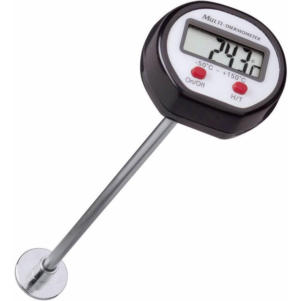 Površinski termometer (HACCP) VOLTCRAFT DOT-150 -50 do +150 °C vrsta tipala: K kalibracija narejena po: delovnih standardih