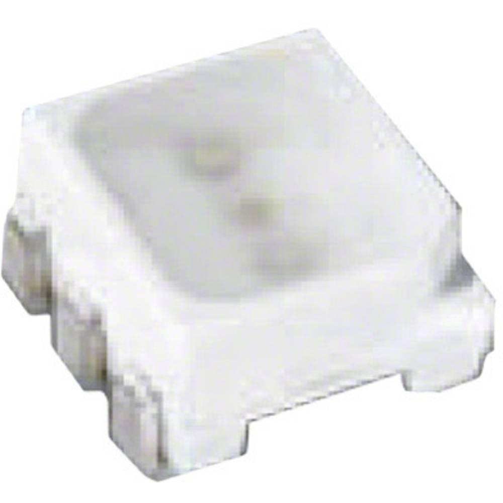 SMD-LED (value.1317393) OSRAM PLCC6 700 mcd, 1350 mcd, 160 mcd 120 ° Rød, Grøn, Blå
