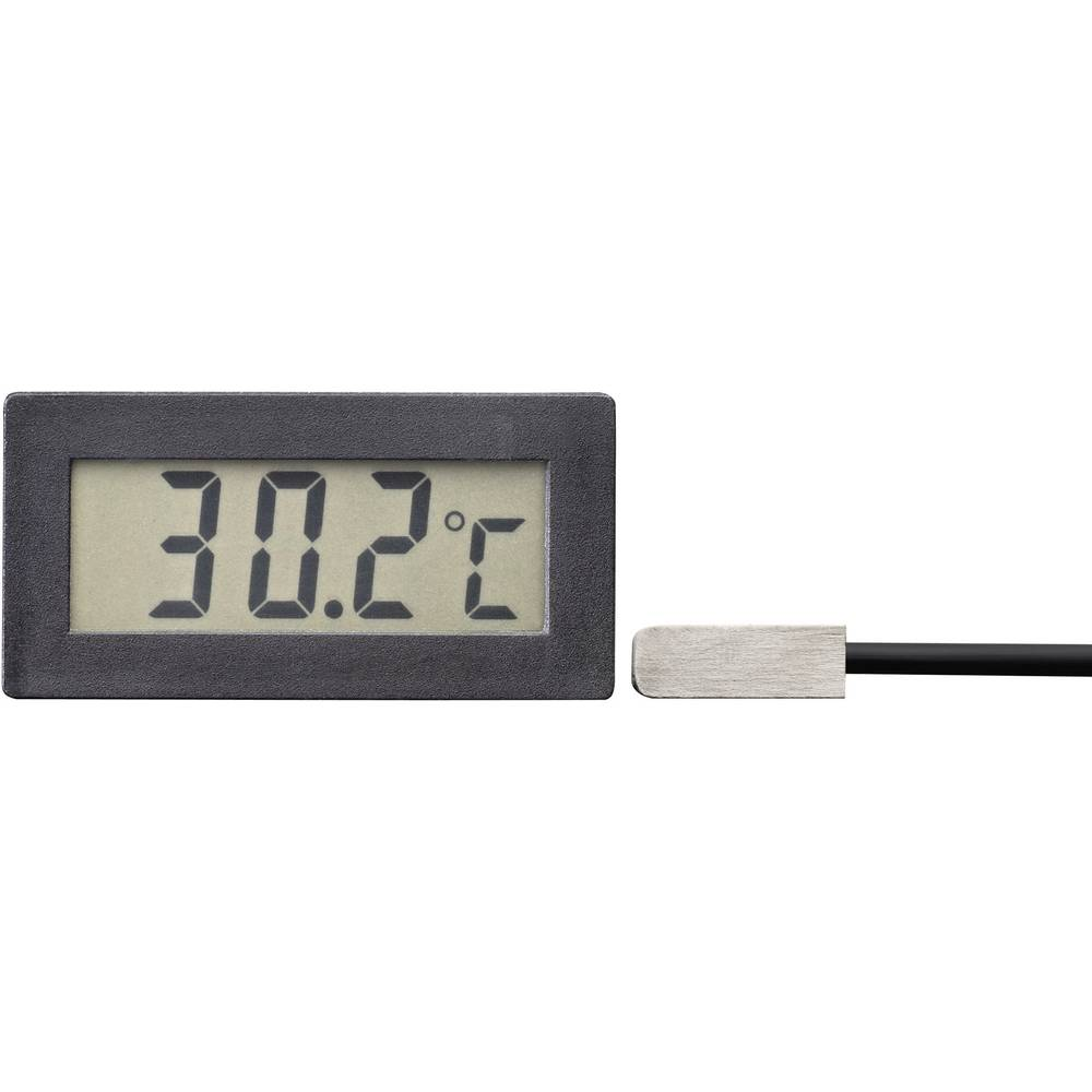 VOLTCRAFT TM-70 LCD-temperaturni modul TM-70 -50 do +70 °C vgradne mere 45.5 x 22 mm