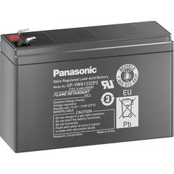 Svinčev akumulator 12 V 2.6 Ah Panasonic Blei 12V 2, 6Ah UP-VWA1232P2 svinčevo-koprenast (AGM) 151 x 94 x 51 mm ploščati vtič 6.