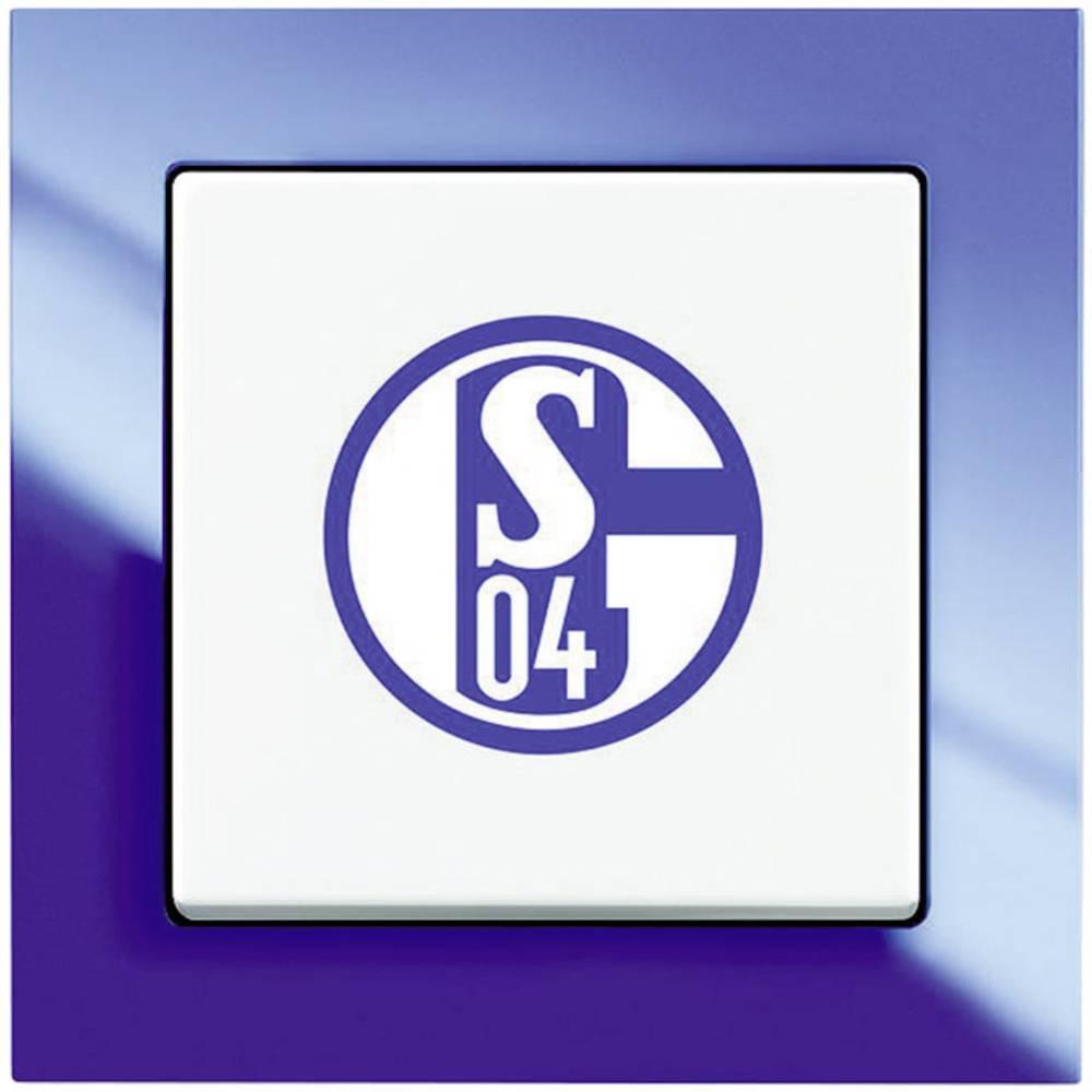 Busch-Jaeger navijaško stikalo FC Schalke 04 modra bela 2000/6 UJ/02