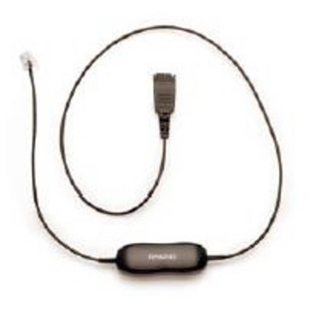 Kabel za telefonski naglavni komplet 8800-00-01 0.50 m Črna