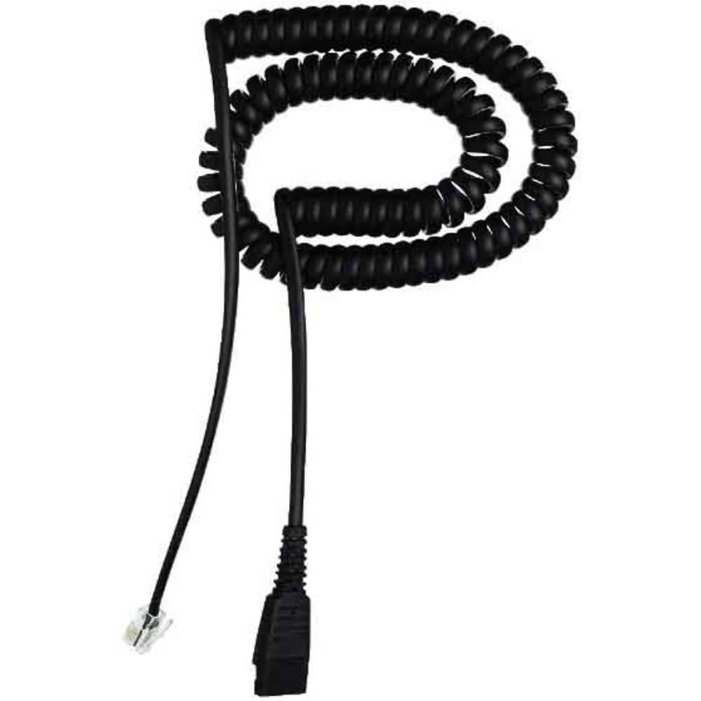 Kabel za telefonski naglavni komplet 01.01.8800 2 m Črna
