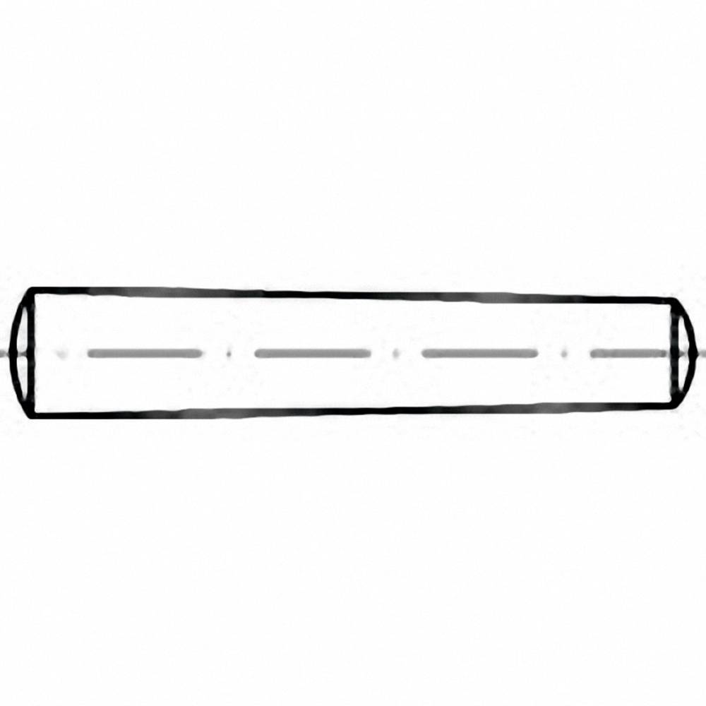 Konusni zatič (premer x D) 2 mm x 10 mm jeklo TOOLCRAFT 100957 100 kosov