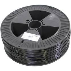 3D-skrivare Filament German RepRap 100107 ABS-plast 3 mm Svart 2.1 kg