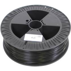 3D-skrivare Filament German RepRap 100294 PLA-plast 3 mm Svart 2.1 kg