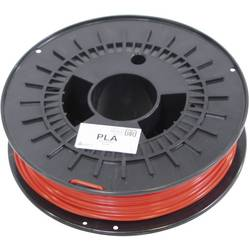 3D-skrivare Filament German RepRap 100018 PLA-plast 3 mm Röd 750 g