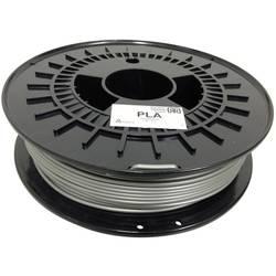 3D-skrivare Filament German RepRap 100254 PLA-plast 3 mm Silver 750 g