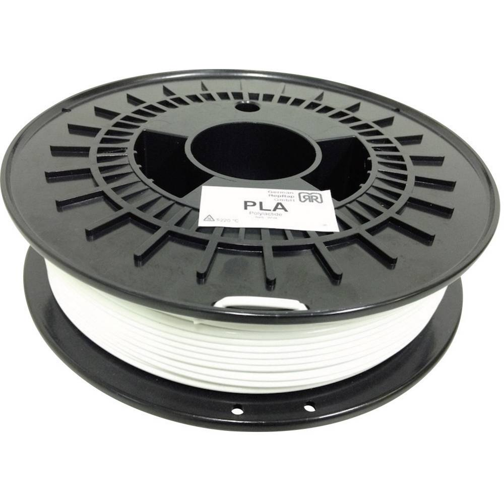 nitka iz umetne mase za 3D tiskalnik RepRap 100249 PLA plastika, prozorna 3 mm 750 g German RepRap