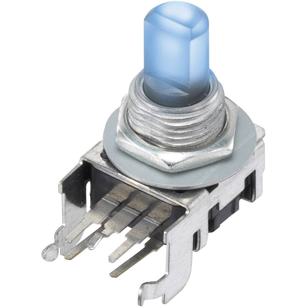12PLB1HBF-B-15F-2B10K-002-6H Vrtljivi potenciometer Z LED Mono 0.05 W 10 kΩ 1 KOS