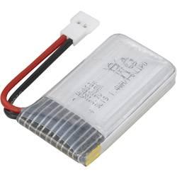 Hubsan LiPo akumulatorski paket za modele 3.7 V 380 mAh Število celic: 1 Mehka torba Ploščati vtič