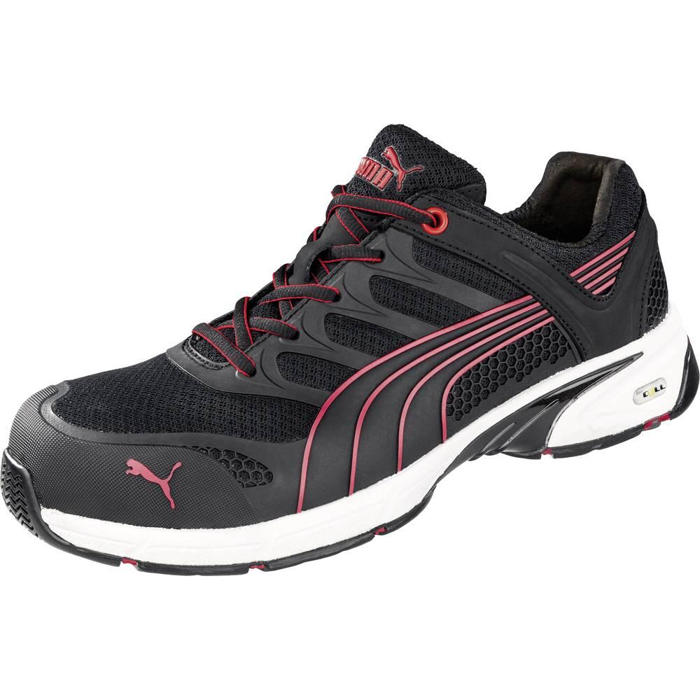 Varovalni čevlji PUMA Safety Fuse Motion Red Men Low, S1P, velikost 42, črna/rdeča, 642540, 1 par