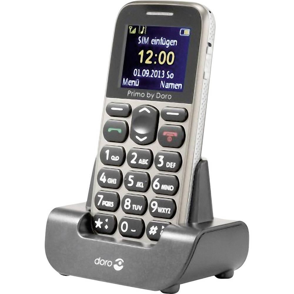 Doro Primo 215 Handy Mobilni telefon za starejše,velike tipke bež