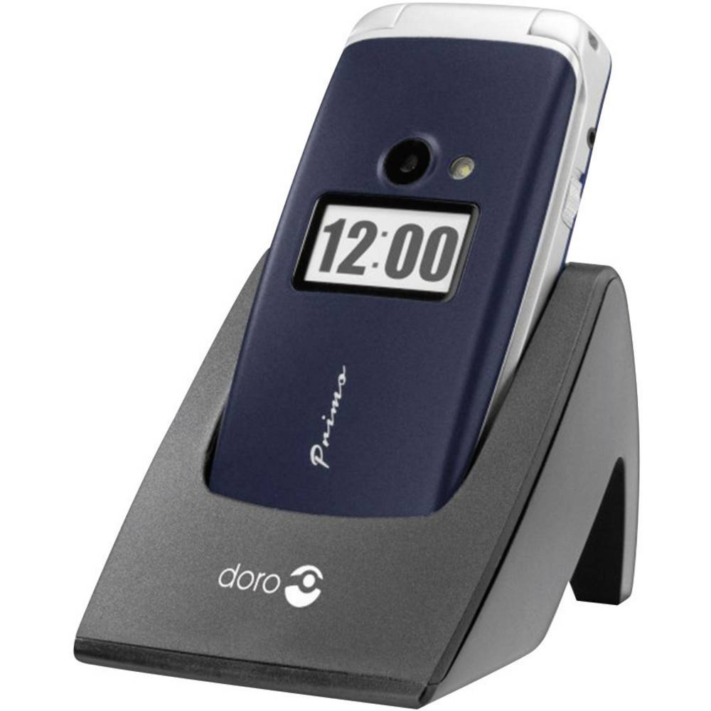 Doro Primo 413 Handy Mobilni telefon za starejše,velike tipke modra