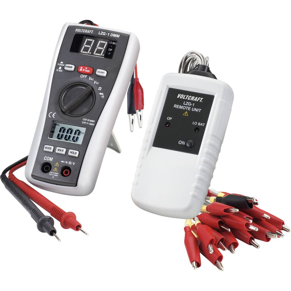 VOLTCRAFT LZG-1 DMM digitalen-multimeter, CAT III 600 V