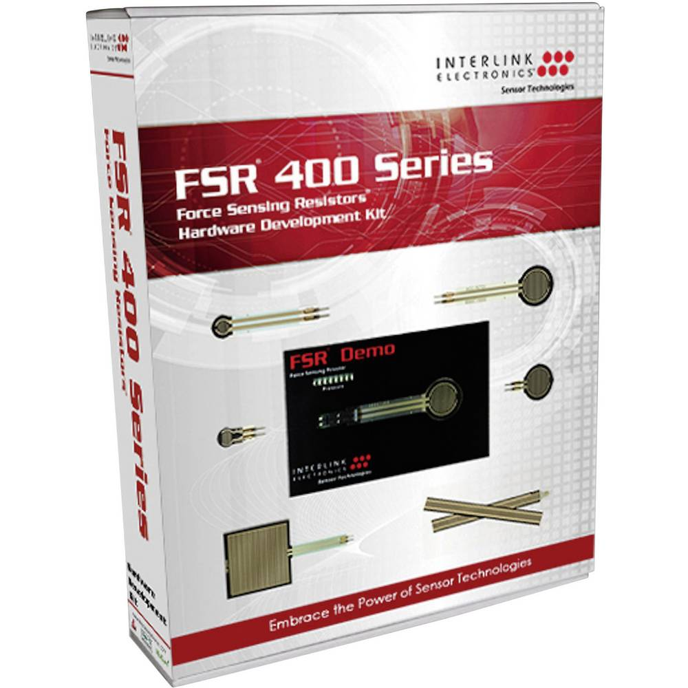 Razvojni komplet za senzore tlaka Interlink FSR400-HDK