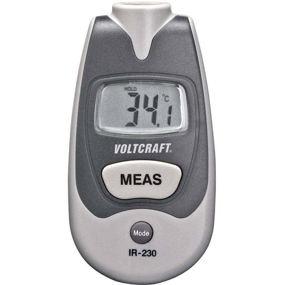 Infracrveni termometar VOLTCRAFT IR-230 optika 1:1 -35 do +250 °C pirometar kalibriran prema: tvorničkom standardu