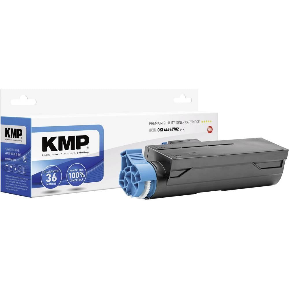 Toner kompatibilen KMP O-T35 nadomešča OKI 44574702 črna tiskane strani maks. 3000 strani 3340,0000