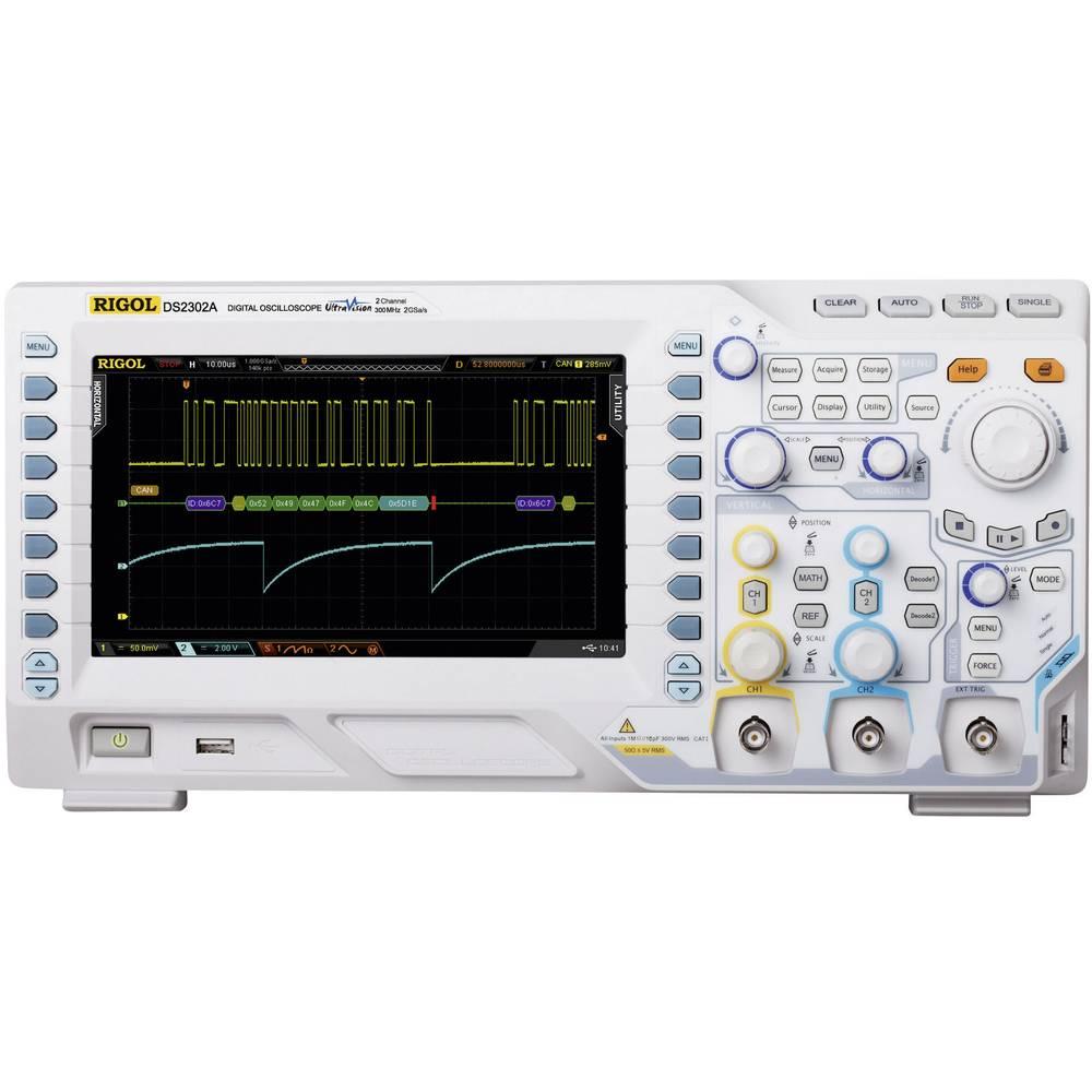 Digitalni osciloskop Rigol DS2072A 70 MHz 2-kanalni 1 GSa/s 7 Mpts 8 Bit digitalni pomnilnik (DSO)