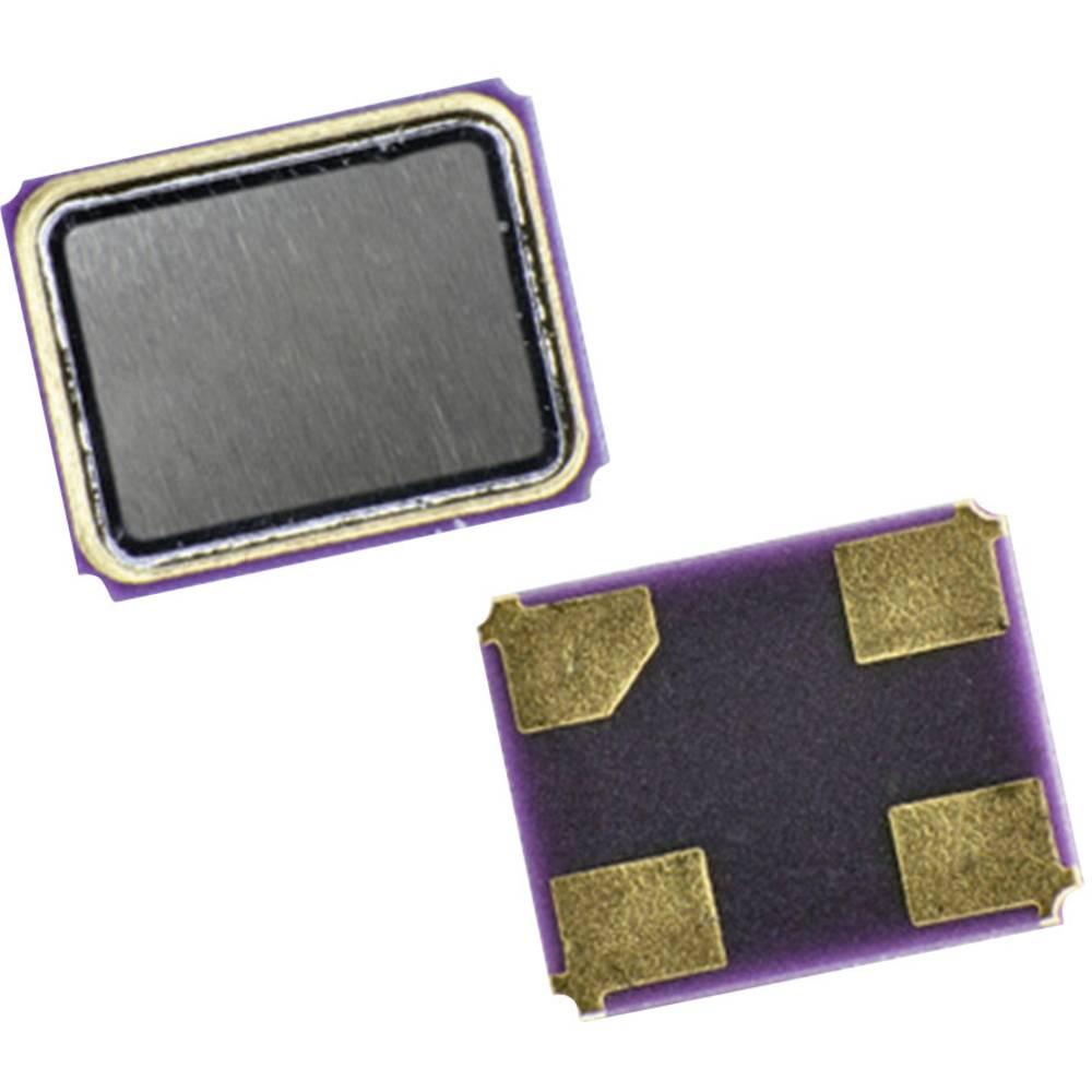 Kvarc QC25-serija Qantek QC2518.4320F12B12M frekvenca 18.432 MHz oblika 4-PAD SMD (D x Š x V) 2.5 x 2 x 0.6 mm