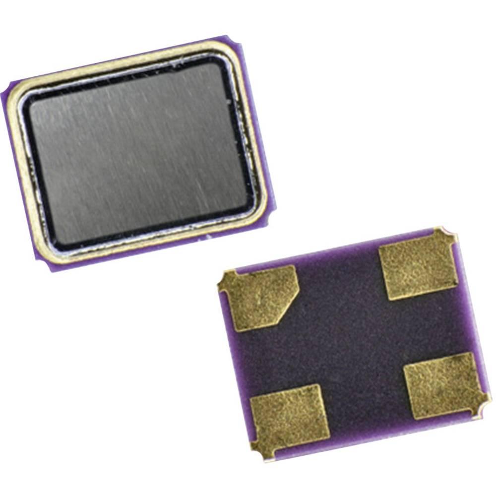 Kvarc QC25-serija Qantek QC2525.0000F12B12M frekvenca 25.000 MHz oblika 4-PAD SMD (D x Š x V) 2.5 x 2 x 0.6 mm
