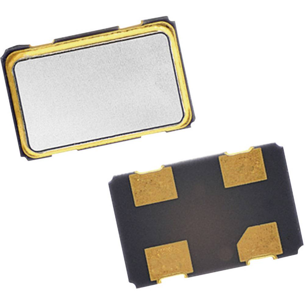 Kvarčni oscilator Qantek QX533A24.57600B15M SMD HCMOS 24.576 MHz 5 mm 3.2 mm 1.3 mm