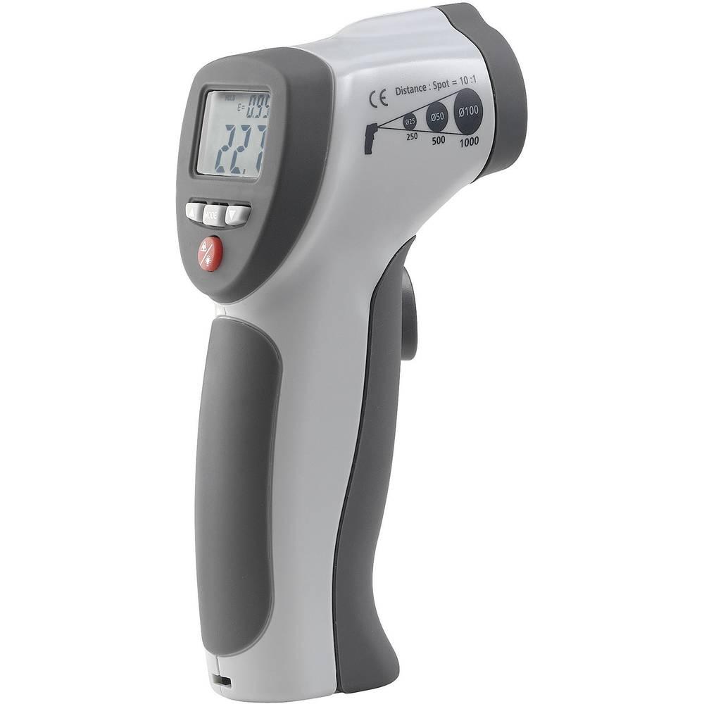 Infrardeči termometer VOLTCRAFT IR 500-10S optika 10:1 -50 do +500 °C pirometer, kalibracija narejena po: delovnih standardih