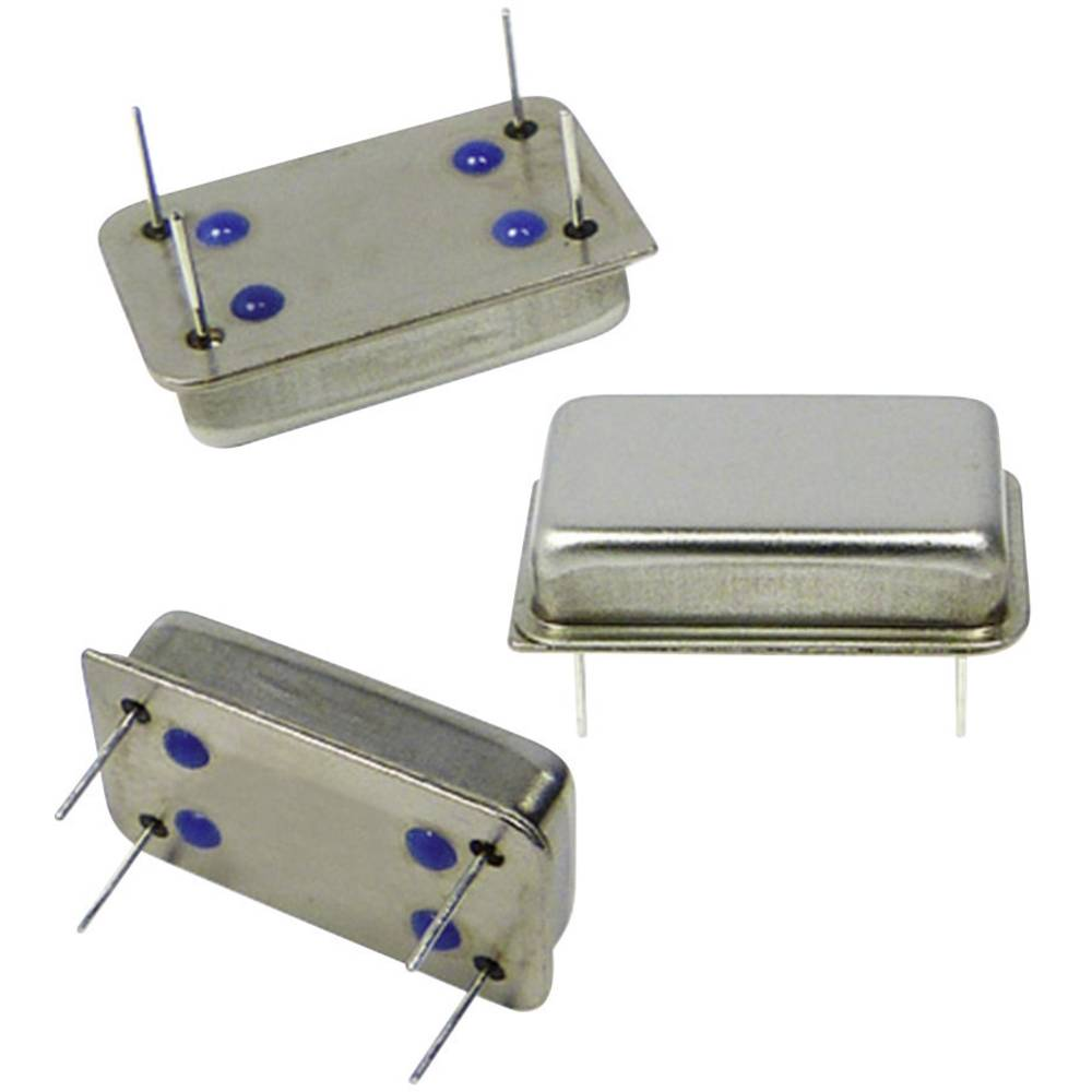 Kvarčni oscilator Qantek QX14T50B4.096000B50TT DIP-14 HCMOS 4.096 MHz 20.8 mm 13.2 mm 5.08 mm