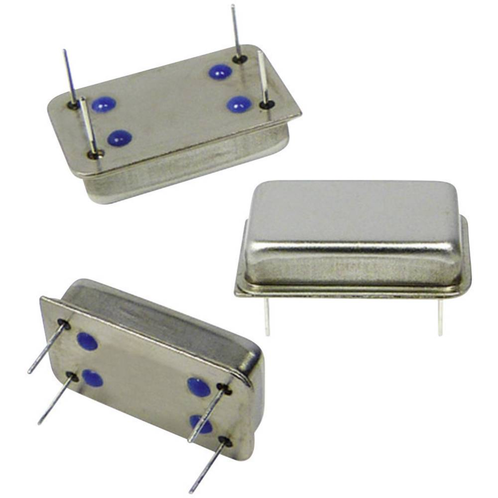 Kvarčni oscilator Qantek QX14T50B6.000000B50TT DIP-14 HCMOS 6.000 MHz 20.8 mm 13.2 mm 5.08 mm