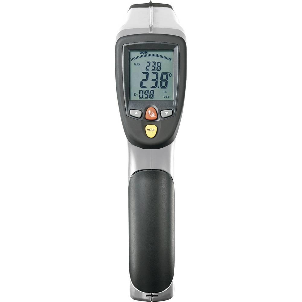 Infracrveni termometar VOLTCRAFT IR-2200-50D optika 50:1 -50 do +2200 °C kontaktno mjerenje, pirometar
