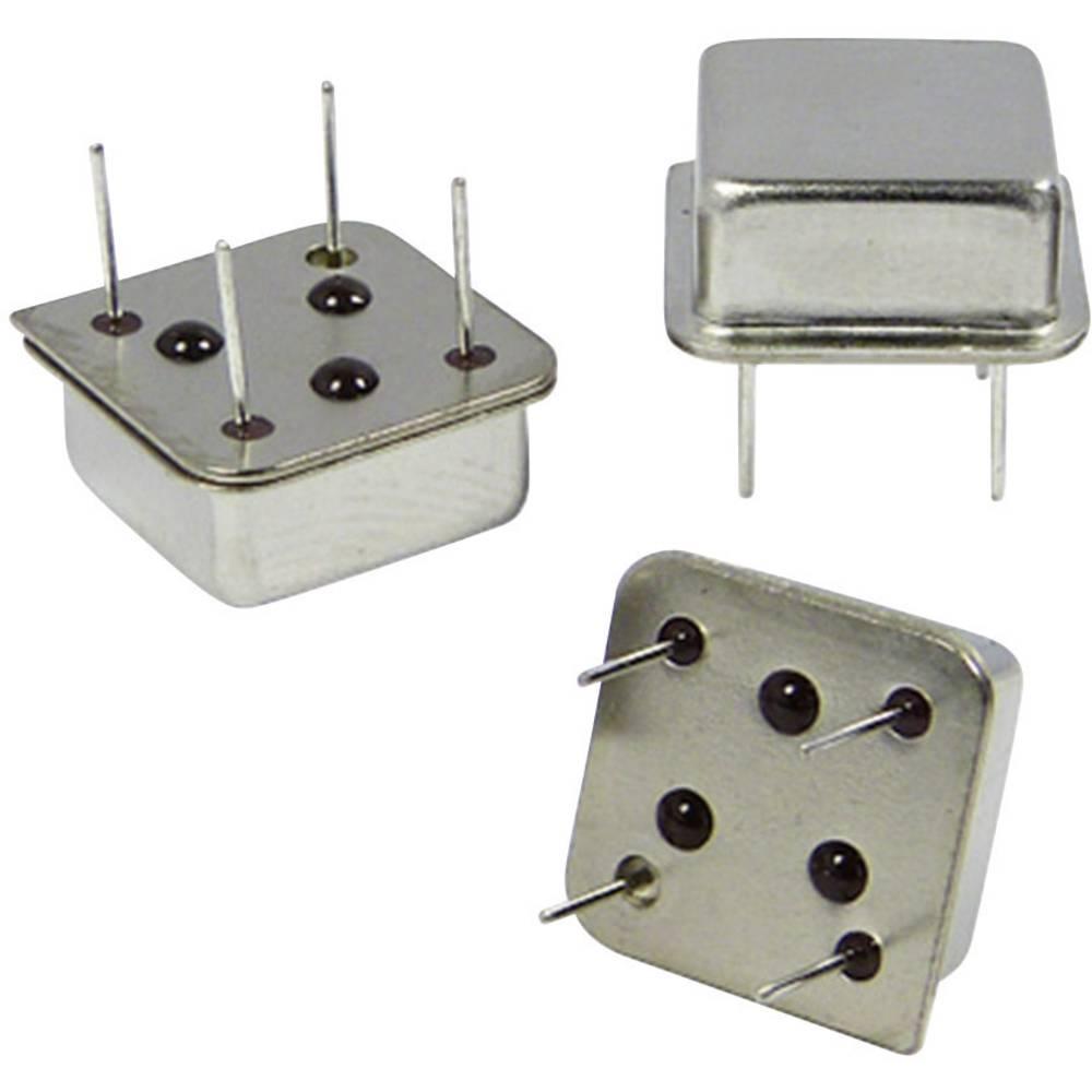 Kvarčni oscilator Qantek QX8T50B3.686400B50TT DIP-8 HCMOS 3.686 MHz 13.21 mm 13.21 mm 5.08 mm