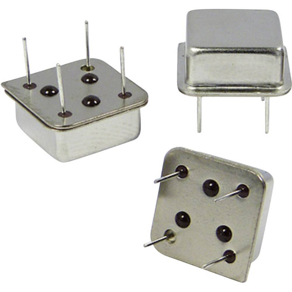 Kvarčni oscilator Qantek QX8T50B24.57600B50TT DIP-8 HCMOS 24.576 MHz 13.21 mm 13.21 mm 5.08 mm