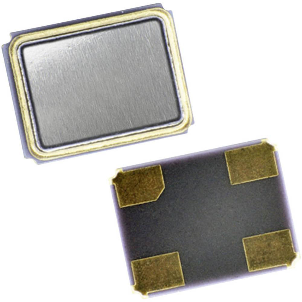Kvarčni oscilator EuroQuartz 25.000MHz XO32050UITA SMD HCMOS 25.000 MHz 3.2 mm 2.5 mm 0.95 mm