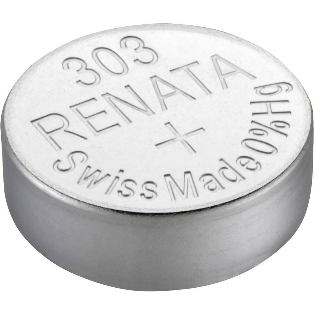 Gumbna baterija 303 srebrovo-oksidna Renata SR44 175 mAh 1.55 V, 1 kos