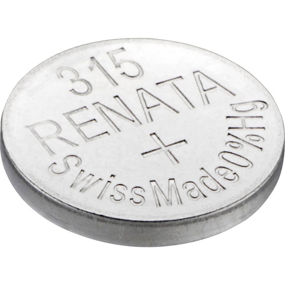Gumbasta baterija 315 srebro-oksidna Renata SR67 23 mAh 1.55 V 1 kom.