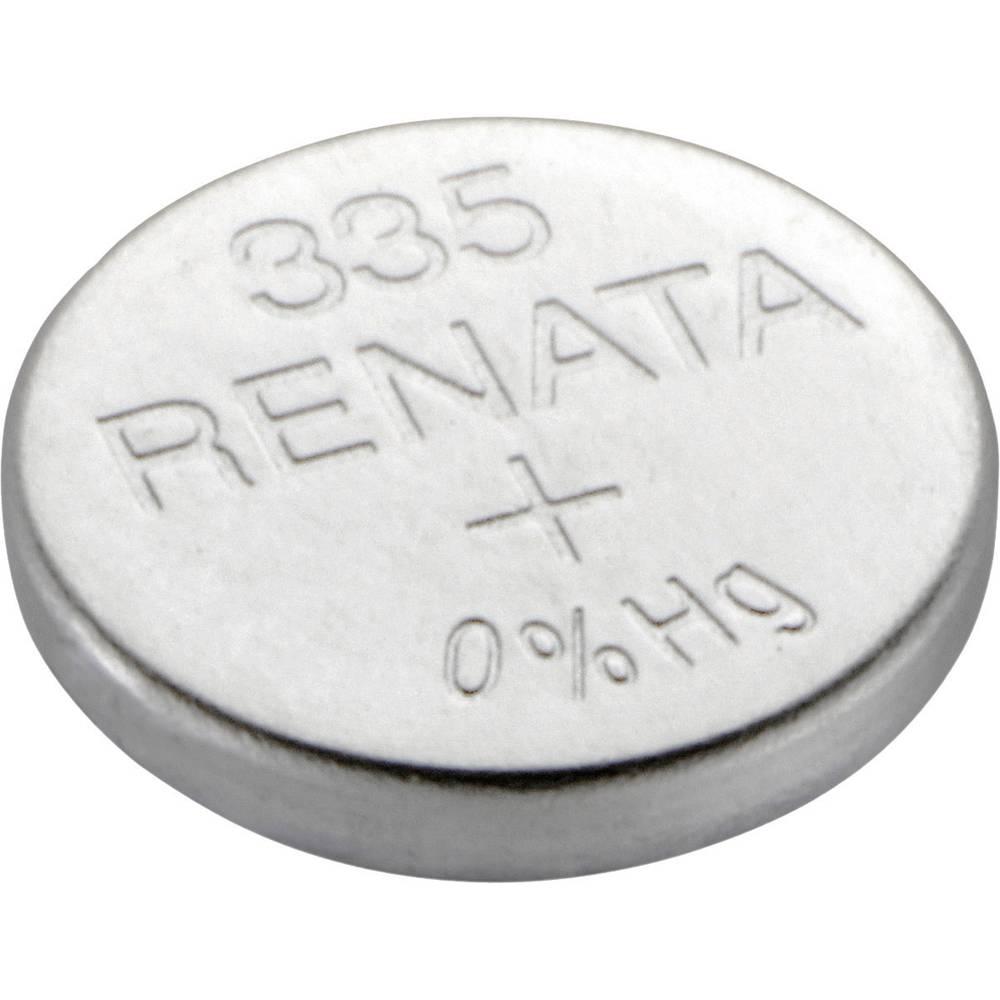 Gumbasta baterija 335 srebro-oksidna Renata SR512 6 mAh 1.55 V 1 kom.