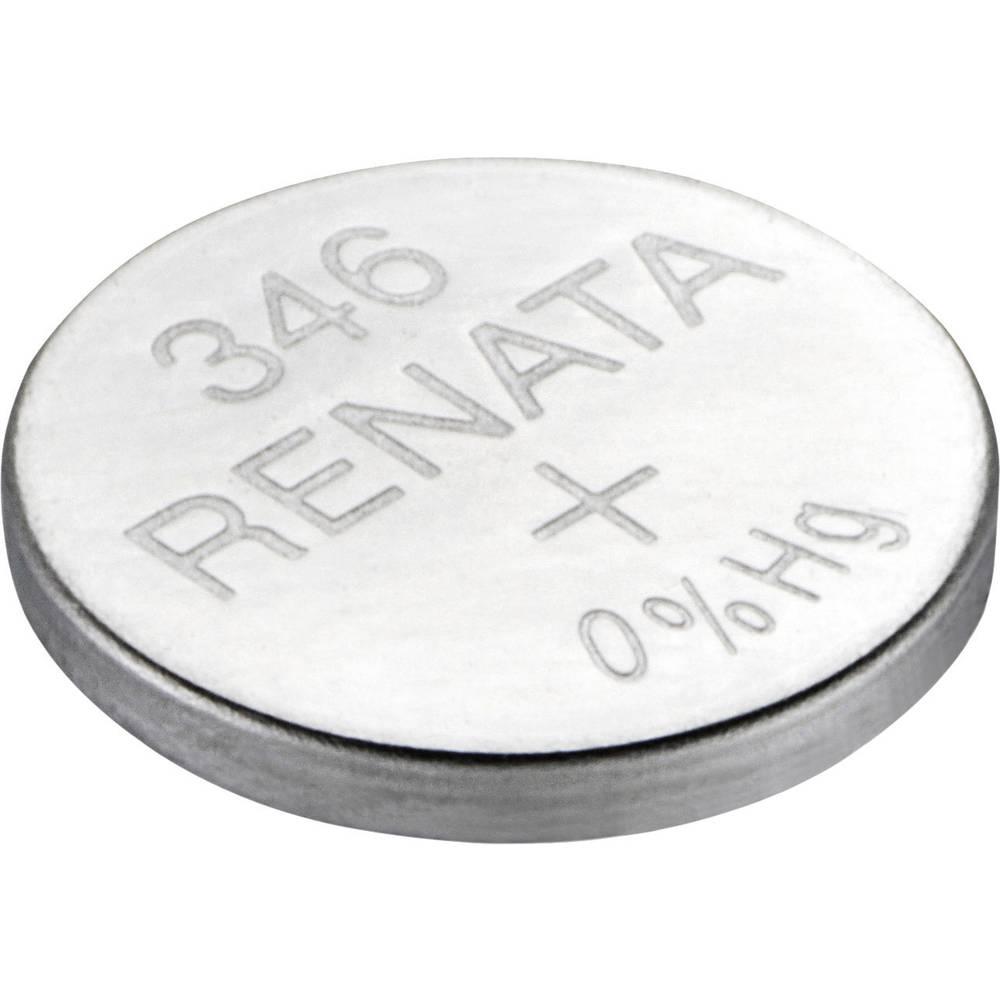 Gumbasta baterija 346 srebro-oksidna Renata SR712 9.5 mAh 1.55 V 1 kom.