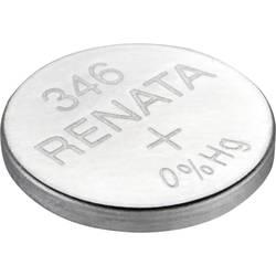 Gumbna baterija 346 srebrovo-oksidna Renata SR712 9.5 mAh 1.55 V, 1 kos