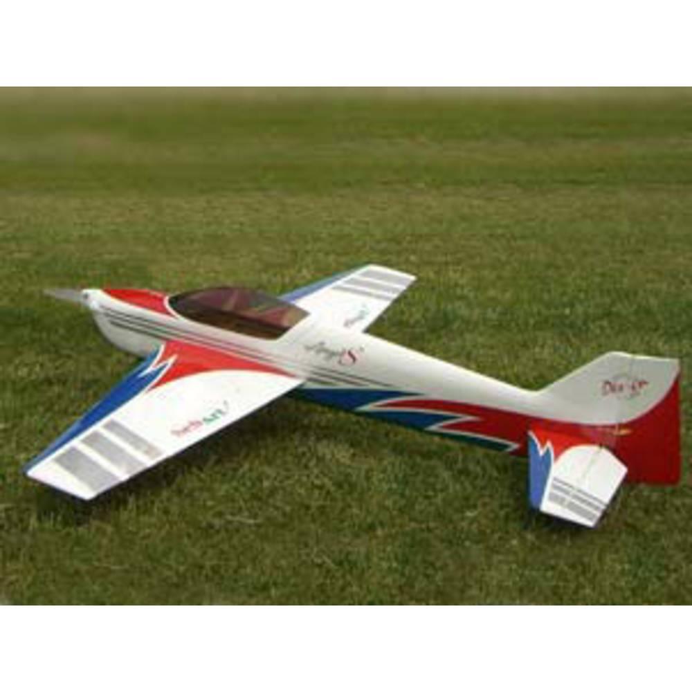 Sebart Angel S Evo 50E Modra, Rdeča RC Model motornega letala ARF 1580 mm