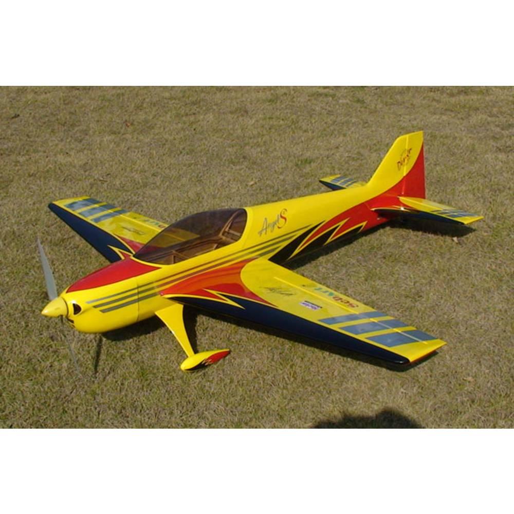 Sebart Angel S Evo 50E Rumena, Črna RC Model motornega letala ARF 1580 mm
