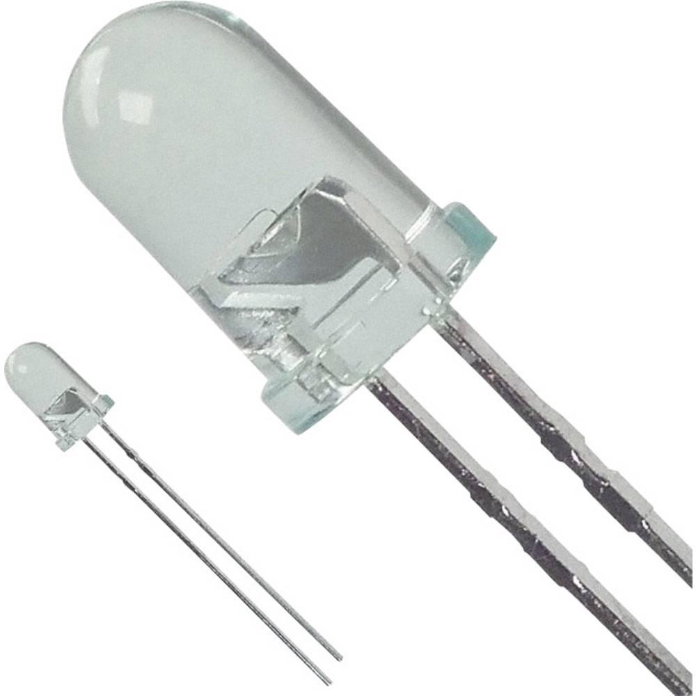 LED med ledninger Broadcom 5 mm 170 mcd 25 ° 30 mA 2.2 V Grøn