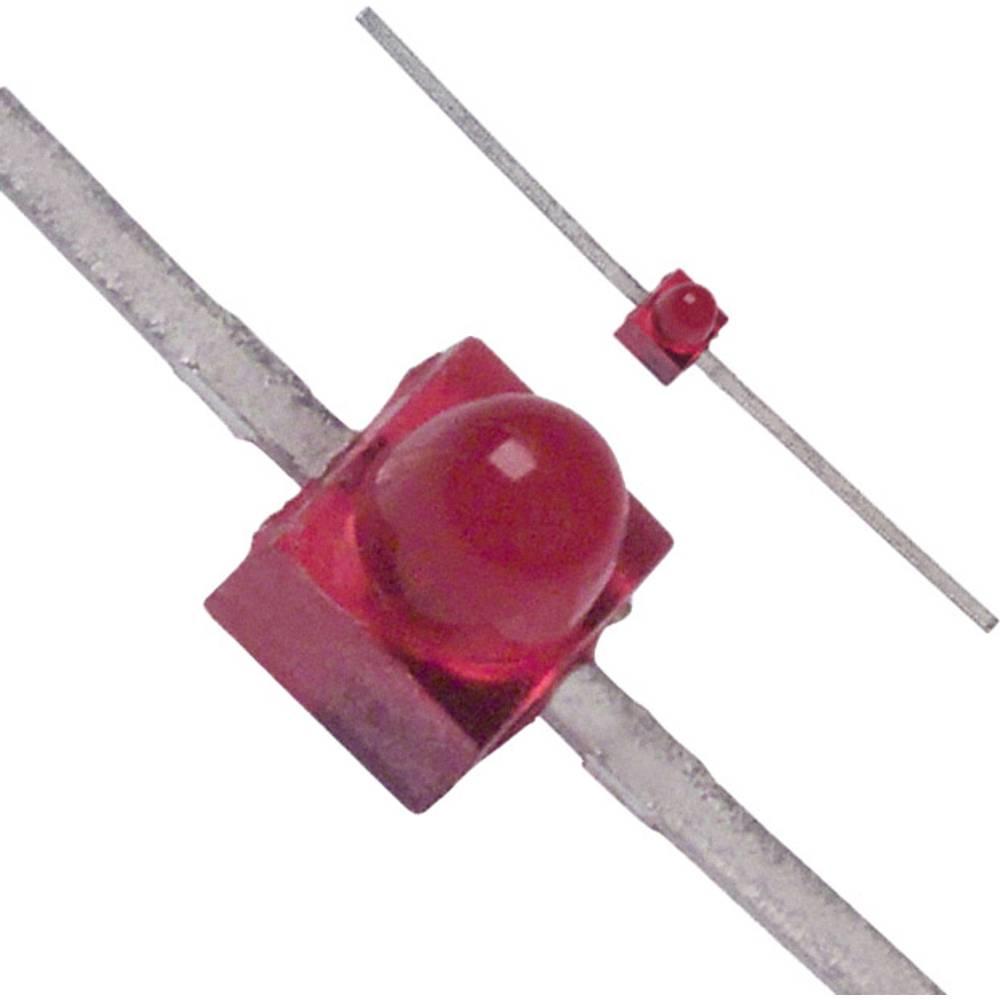 LED med ledninger Broadcom 1.9 mm 1.8 mcd 90 ° 30 mA 1.6 V Rød